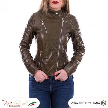 020 - Genuine Leather Woman...