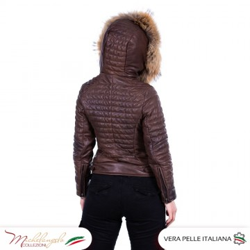 D101 - Giacca Donna in vera...